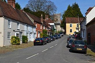 Hambledon, Hampshire - Image: High Street, Hambledon (geograph 3907969)