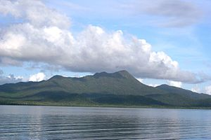 Tropical Hinchinbrook Island from Cardwell, no...