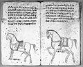 Hindi Manuscript 191, fols. 13 verso, 14 recto Wellcome L0024206.jpg
