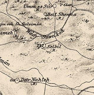 Salbit Place in Ramle, Mandatory Palestine