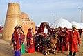 Historical turkmen wedding of the bride.jpg
