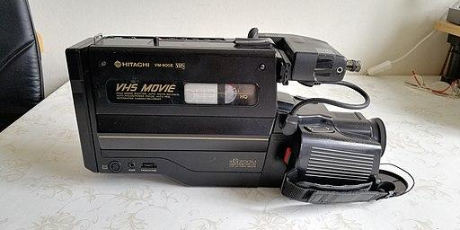 Hitachi VM-600E VHS Camcorder