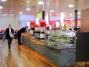 Hobart International Airport - Terminal cafe