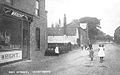 Hogsthorpe High Street and butcher's shop - pre WWI.jpg