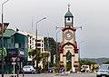 Hokitika town clock. (15913511877).jpg