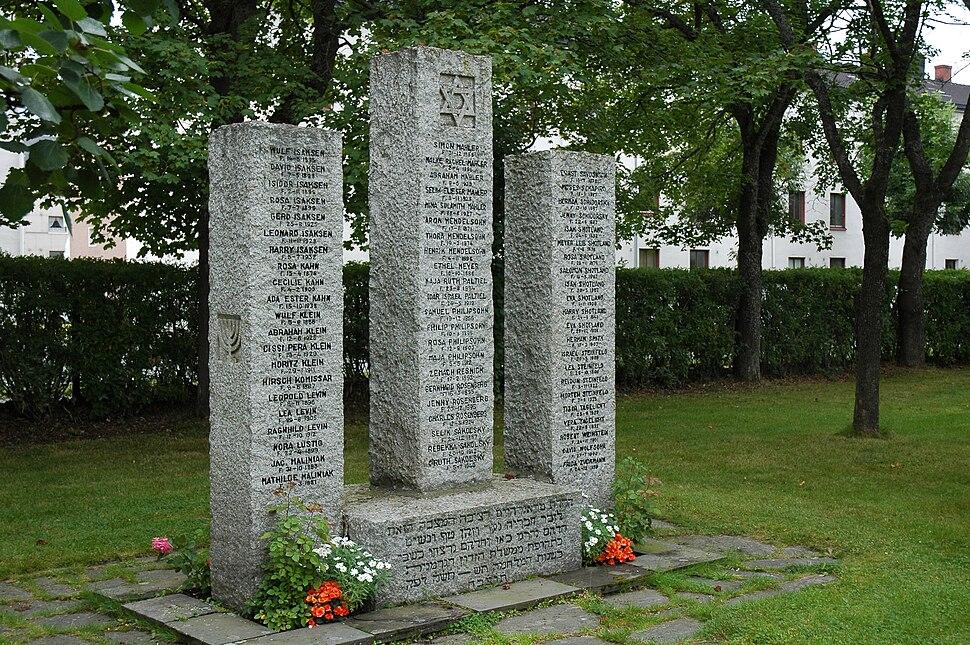 Holocaust memorial in Trondheim