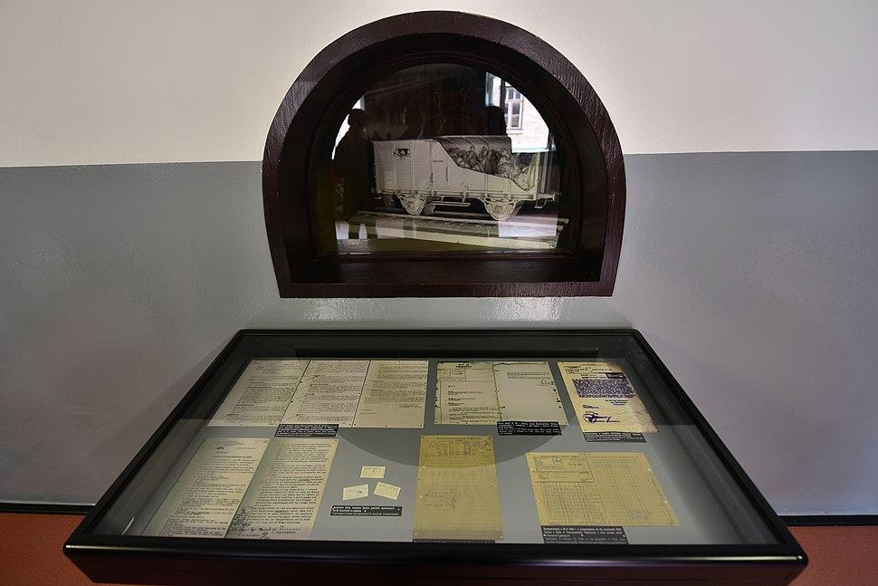 Holocaust trains Auschwitz-Birkenau Museum exhibition