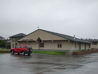 Judiciary of Alaska - The District Court in Homer.