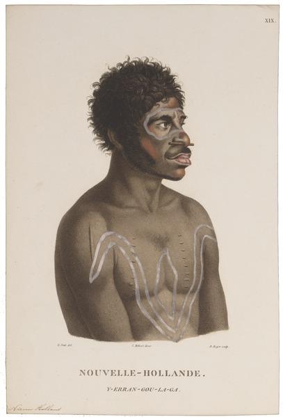 File:Homo sapiens - Aboriginal, Australië - 1700-1880 - Print - Iconographia Zoologica - Special Collections University of Amsterdam - UBA01 IZ19500017.tif