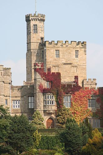 James Harrington (Yorkist knight) - Hornby Castle, Lancashire, the focus of the feud with the Stanley family (4)