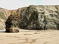 Horse Rock, Watergate Beach - geograph.org.uk - 936694.jpg