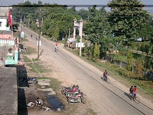 Gularia - Gulariya Hospital road area