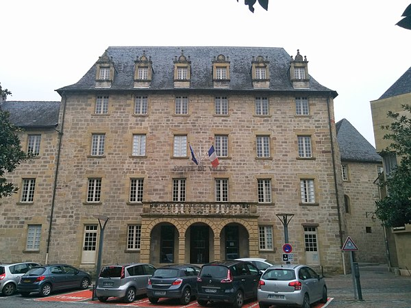 Hôtel de ville de Brive-la-Gaillarde.