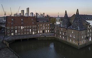 House Mill tide mill in Bromley-by-Bow, London, United Kingdom