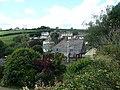 Houses seen from the churchyard, Ugborough - geograph.org.uk - 1420173.jpg