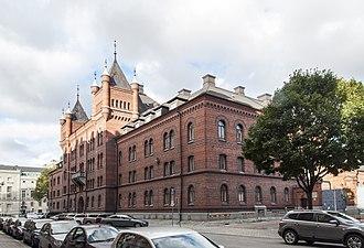 Royal Stables (Sweden) - Image: Hovstallet, Väpnargatan