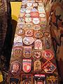 Hrvatski povijesni muzej 27012012 Domovinski rat 53 oznake brigada HV.jpg