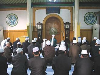 Hui people - Hui praying in mosque