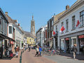 Hulst, toren van de Sint Willibrordusbasiliek vanuit de Gentsestraat foto12013-05-06 14.17.jpg