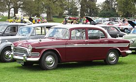 Humber Super Snipe Series II first reg nov 1959 2965cc and having now become a red(dish) car.JPG