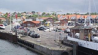 Hundested Town in Capital Region, Denmark