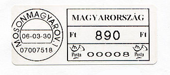 Hungary stamp type PO4.jpg