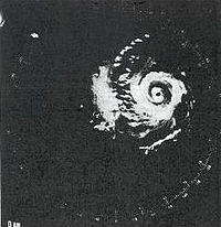 Radar image of Hurricane Carmen