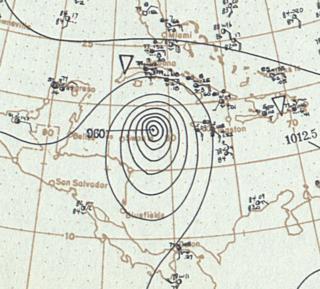 1903 Jamaica hurricane