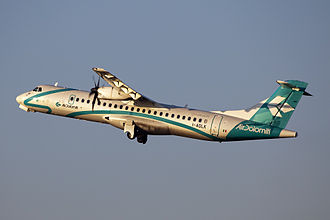 Air Dolomiti - A now retired Air Dolomiti ATR 72-500