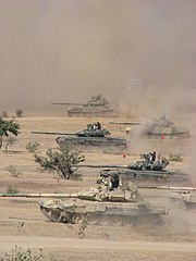 IA T-90 in action