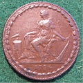 IRELAND, DUBLIN -CAMAC, RYAN and CAMAC HALFPENNY TOKEN 1794 b - Flickr - woody1778a.jpg