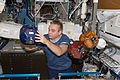 ISS-22 Maxim Suraev with SPHERES in the Destiny lab.jpg