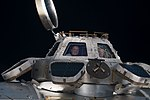 ISS-56 Ricky Arnold and Drew Feustel inside the Cupola.jpg