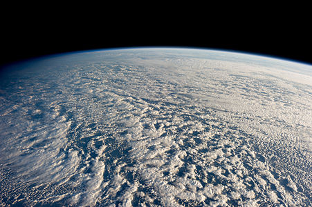 Stratocumulus clouds seen from the International Space Station