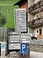 ITA — Trentino-Südtirol – Autonome Provinz Bozen-Südtirol — Gemeinde Sexten (Wegweiser) 2020.JPG