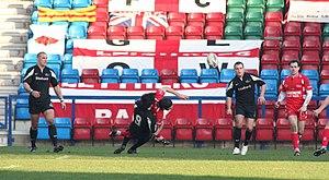 Ian Watson (rugby league) - Image: Ian Watson Leigh Centurions
