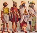 Ibero, Celta, e Mouros (Roque Gameiro, Quadros da História de Portugal, 1917).png