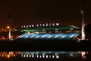 Adidas Grand Prix Athletics tournament held in New York, United States