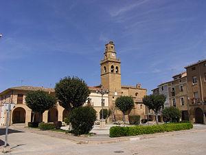 Anguciana - Image: Iglesia de San Martin de Anguciana