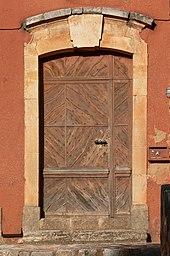 Porte architecture wikip dia for Taille des portes interieures