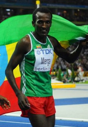 Imane Merga - Merga during the 2009 World Championships