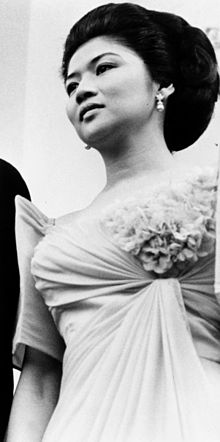 photograph of Imelda Marcos