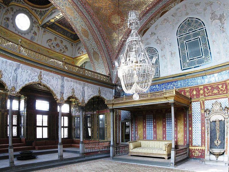 トプカプ宮殿 Imperial Hall