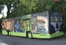 bus als werbetrger - Werbetrager Beispiele