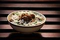 Indian Mushroom & Mutton Pulao.jpg