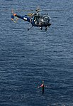 Indian Navy Chetak helicopter during TROPEX-2012.jpg