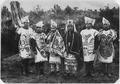 Indians in ceremonial dress. - NARA - 297948.tif