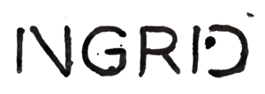 Ingrid (record label) - Image: Ingrid Record Label Logo