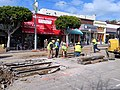 Inner Sunset track work on Irving, March 2018.JPG