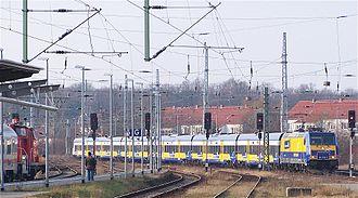 Transdev Germany - Interconnex Line 1 (Gera - Rostock) in 2007